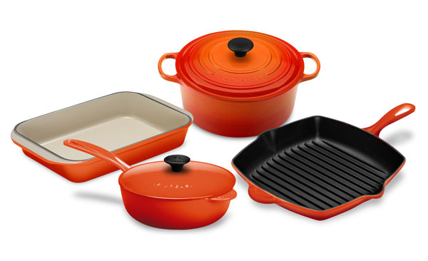 Le Creuset Cast Iron Signature Cookware Set 6 Piece