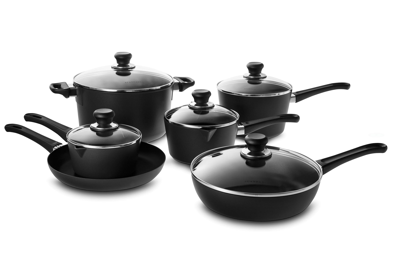 Scanpan Cookware Set New Stratanium Nonstick 11 Piece