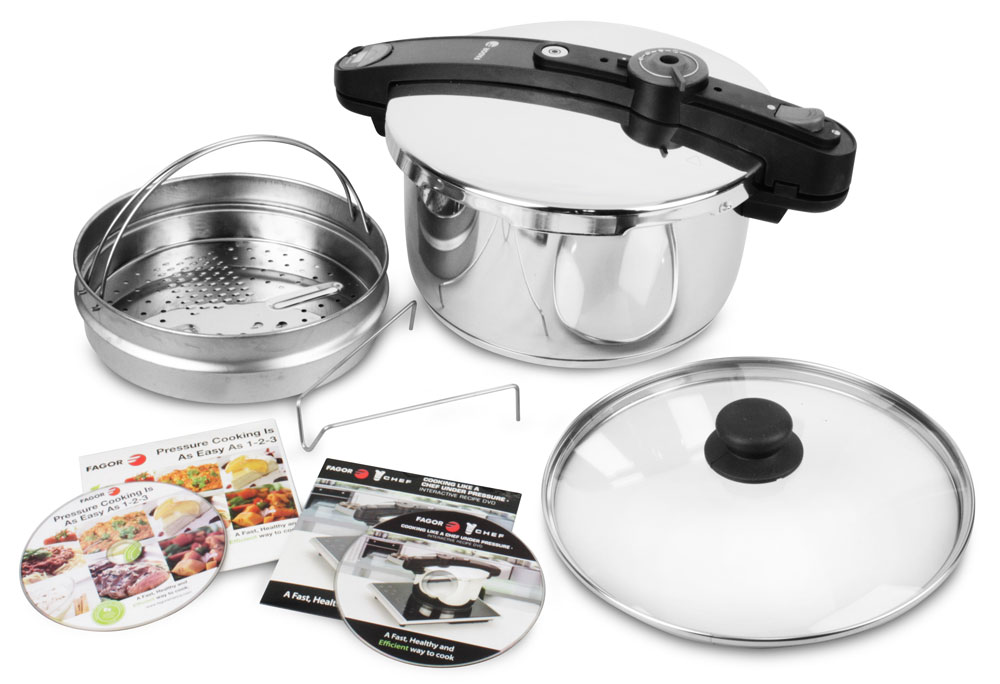 Fagor Chef Stainless Steel Pressure Cooker 6 Quart