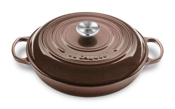 Le Creuset Signature Cast Iron Braiser 3 5 Quart Truffle