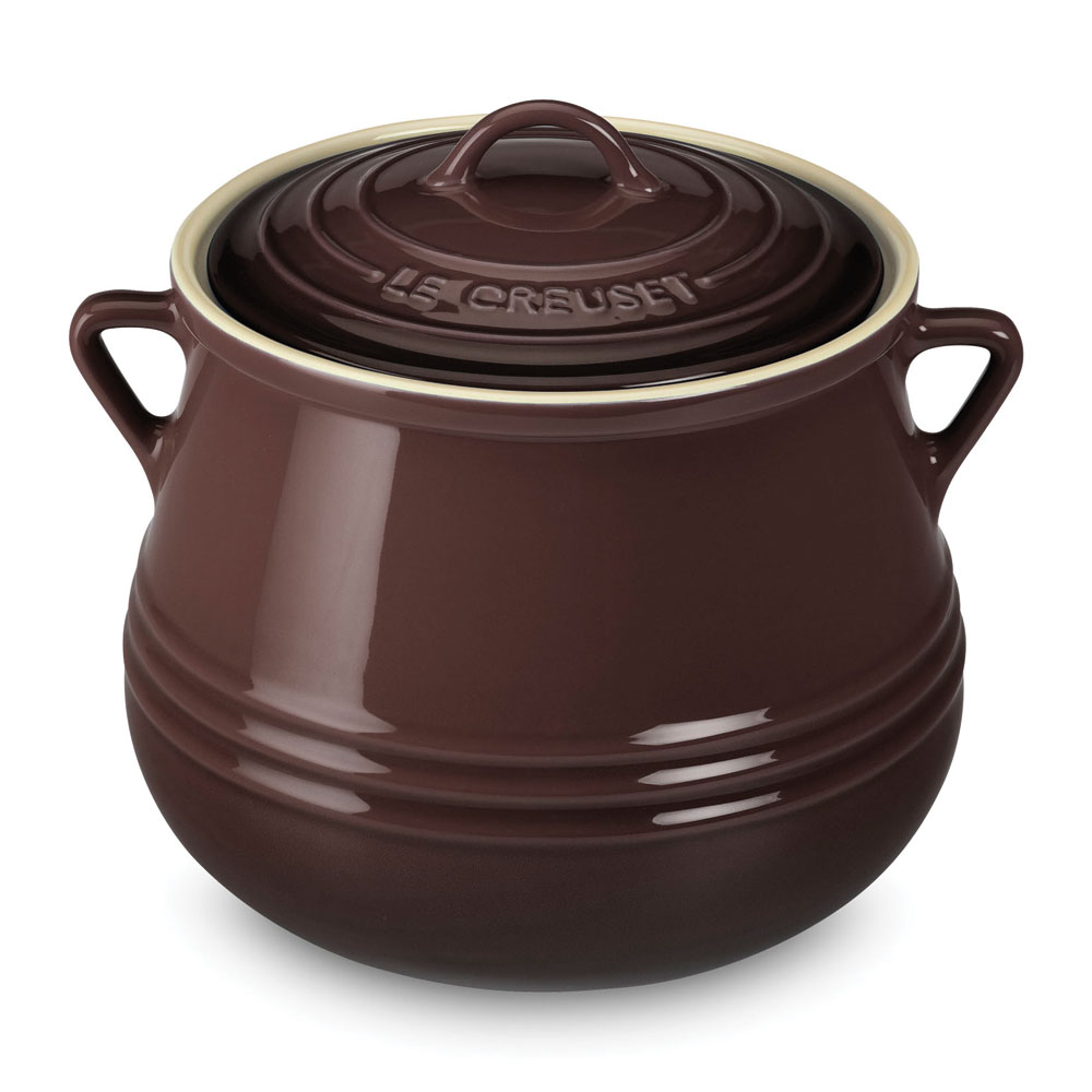 Truffle  sc 1 st  Cutlery and More & Le Creuset Stoneware Heritage Bean Pot 4.5-quart Truffle | Cutlery ...