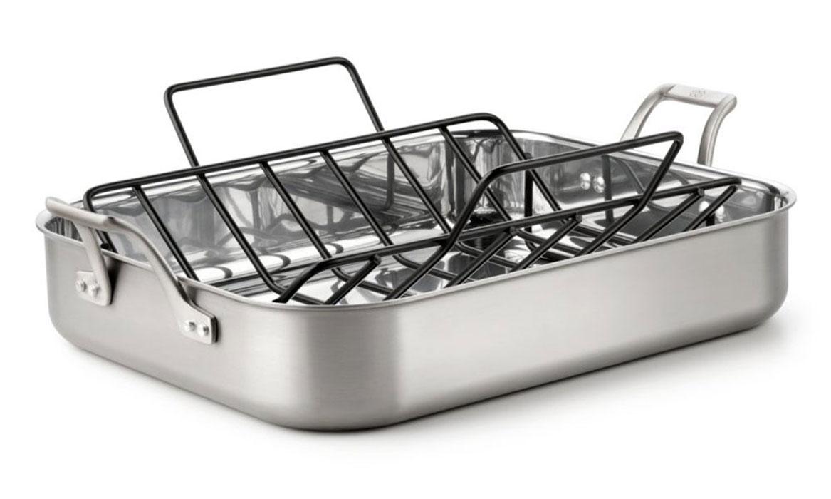 Fry Chicken In Aluminum Pan