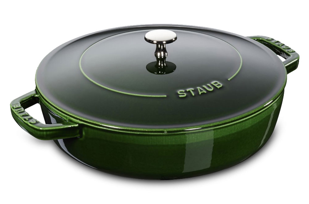 Staub Braiser 4 Quart Basil Cutlery And More