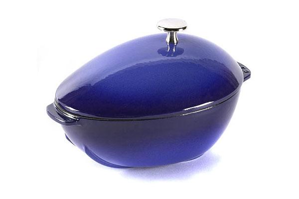 Staub Mussel Pot 2 Quart Sapphire Blue Cutlery And More