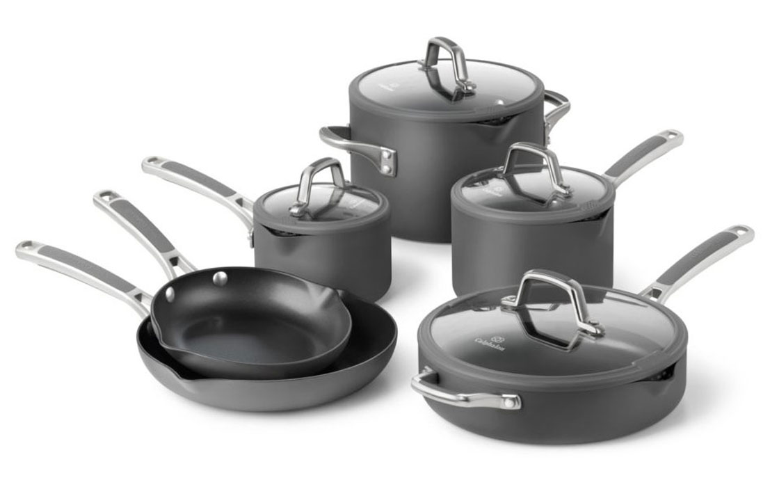 Comments about Calphalon Cookware (Various pieces). I don't understand all the positive reviews for Calphalon. It has been the single greatest disappointment of all the cookware I have ever owned.