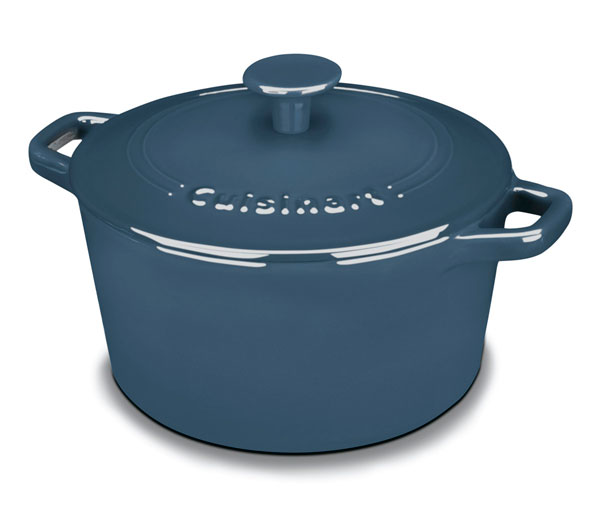 Cuisinart Enameled Cast Iron Round Dutch Oven 3 Quart