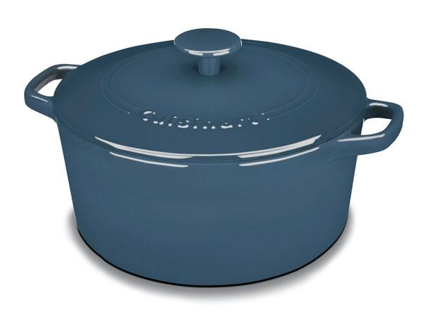 Cuisinart Enameled Cast Iron Round Dutch Oven 5 Quart