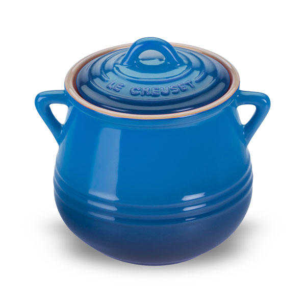 Le Creuset Stoneware Heritage Mini Bean Pot 20 Ounce