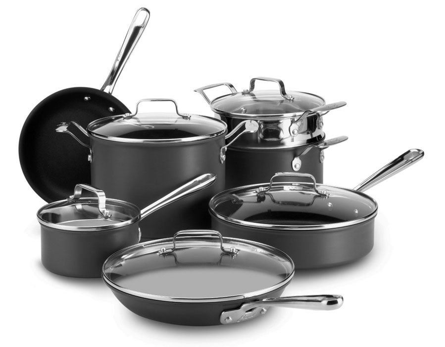 Emerilware Hard Anodized Nonstick Cookware Set 12 Piece