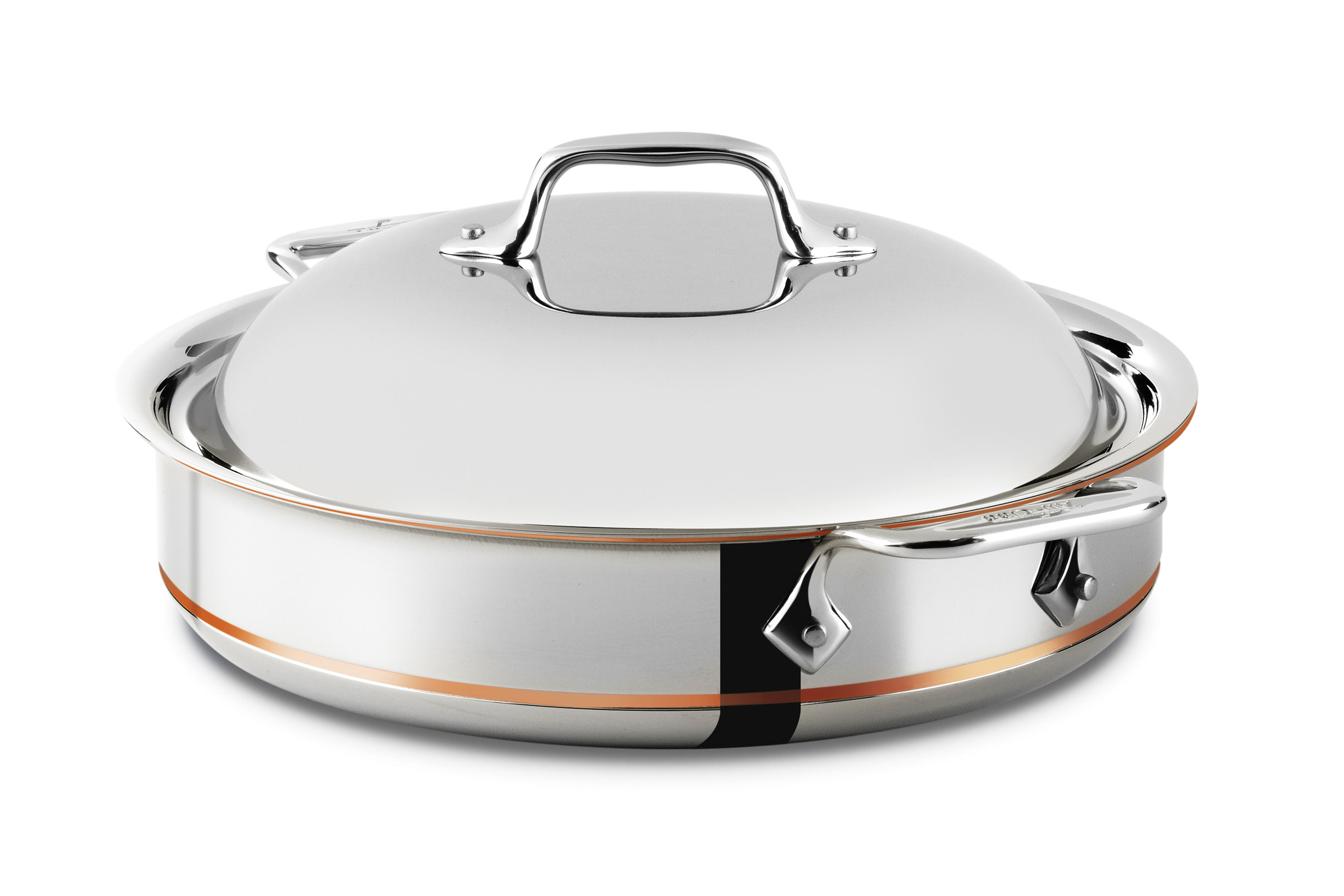 All Clad Copper Core Sauteuse Pan 3 Quart Cutlery And More