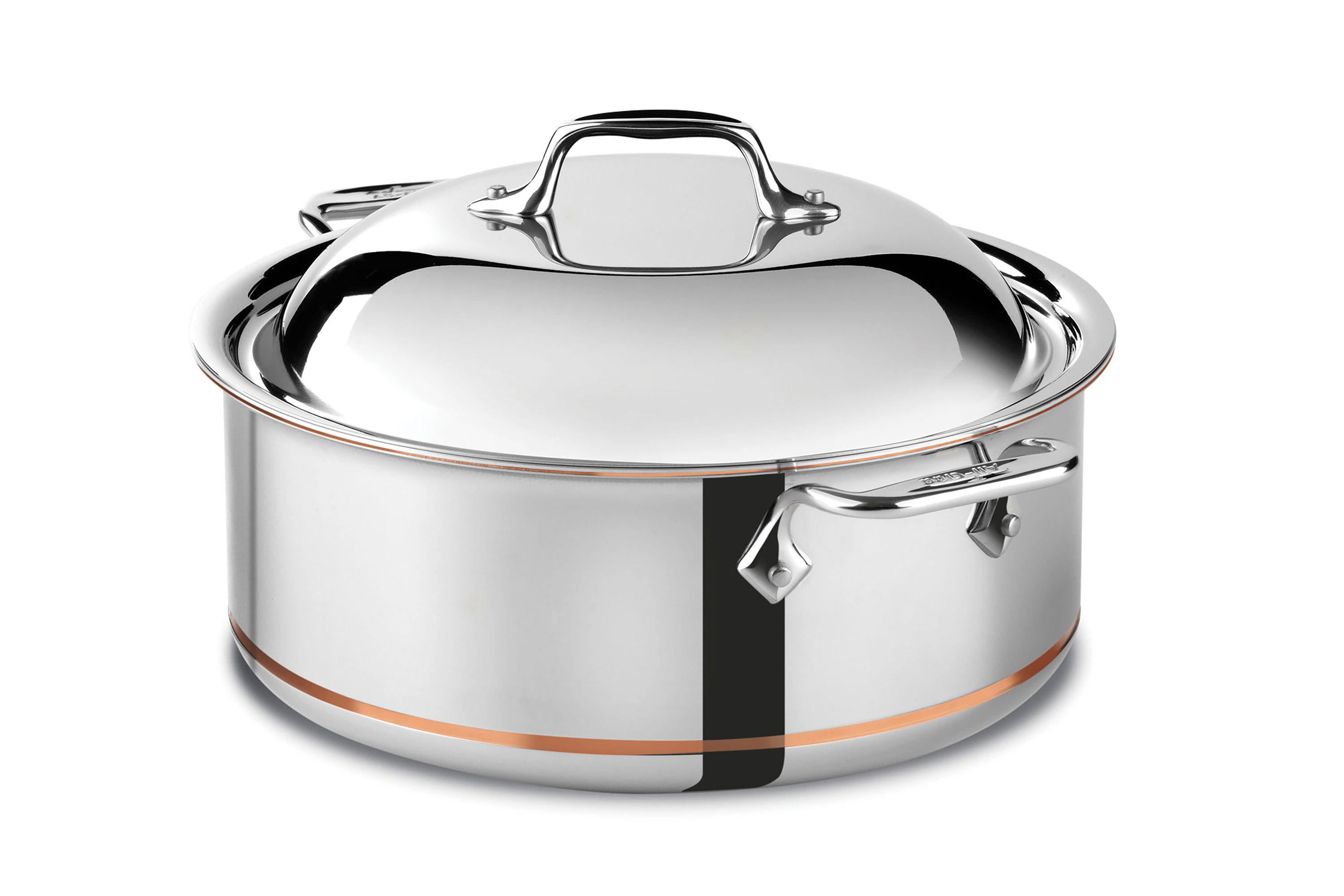All Clad Copper Core Round Roaster 6 Quart Cutlery And More