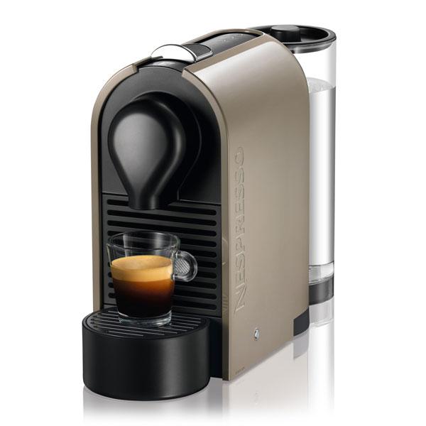 Nespresso U Pure Compact Coffee Amp Espresso Maker Grey