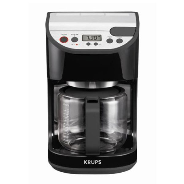 Krups Precision Glass Carafe Coffee Maker 12 Cup