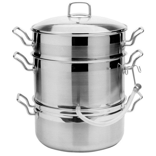 Norpro Krona Stainless Steel Steamer Juicer Cutlery And More