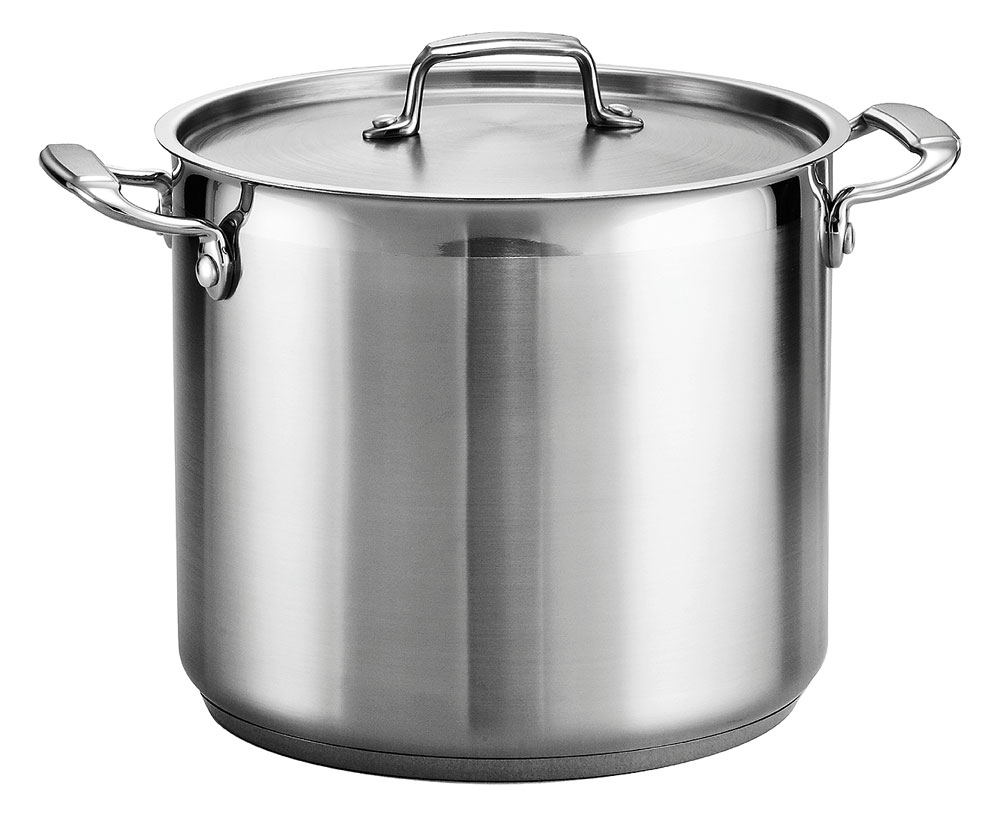 Tramontina Stainless Steel Stock Pot 12 Quart Cutlery