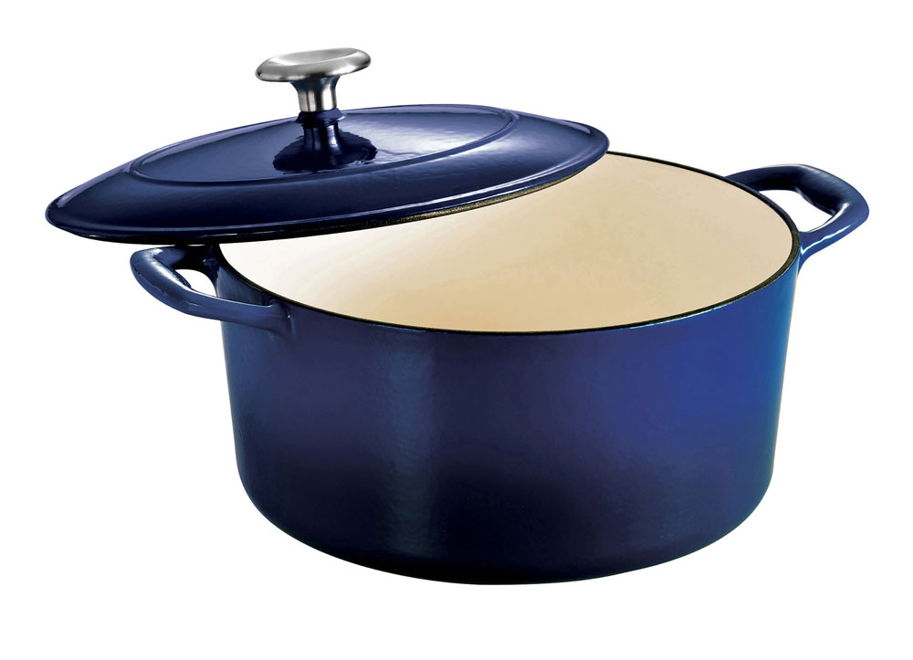 Tramontina Enameled Cast Iron Round Dutch Oven 5 5 Quart