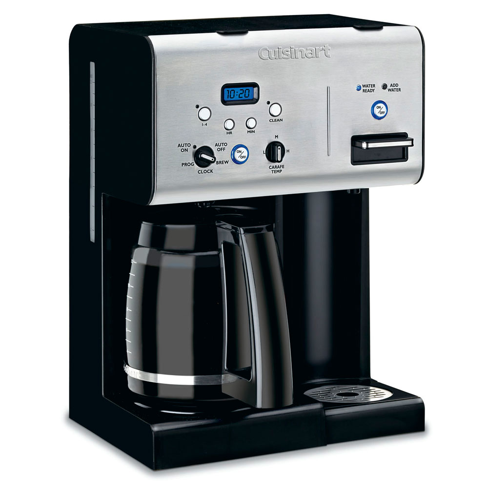 Cuisinart Programmable Coffeemaker with Instant Hotwater Dispenser, 12-cup Cutlery and More