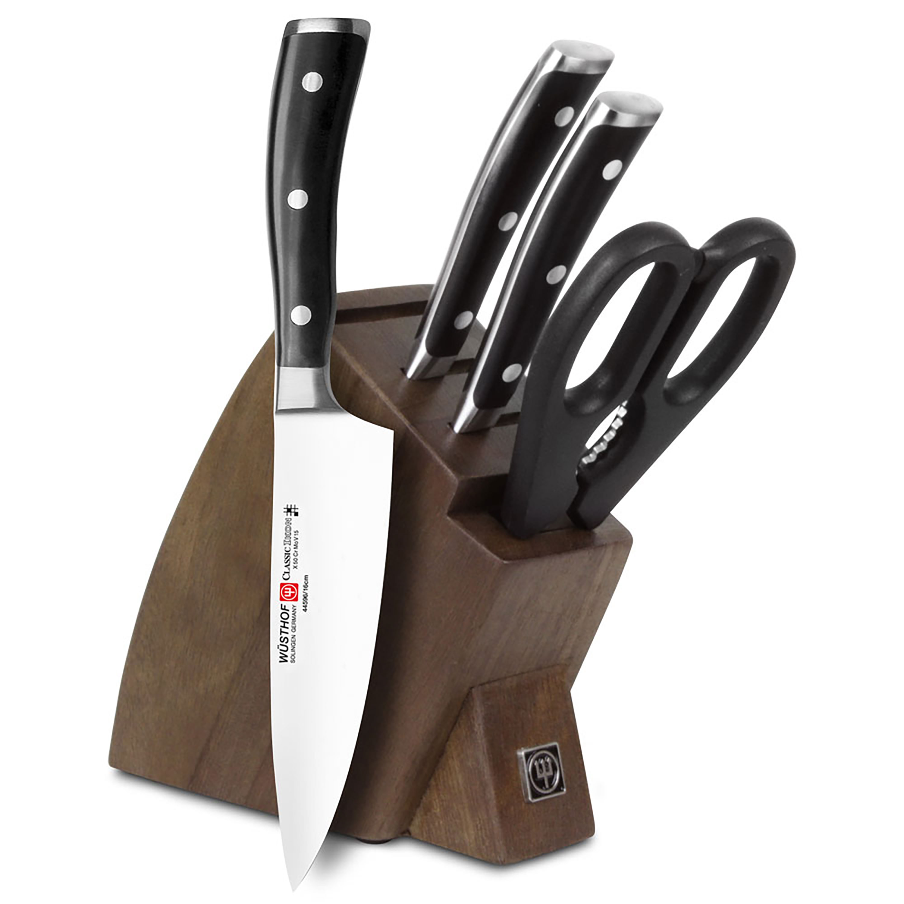 Wusthof Classic Ikon Studio Knife Block Set 5 Piece