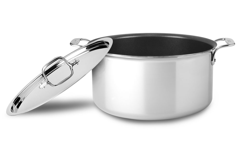 All Clad D3 Stainless Nonstick Stock Pot 8 Quart