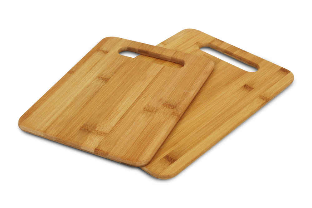 Cutlery And More Bamboo Cutting Board Set 2 Piece