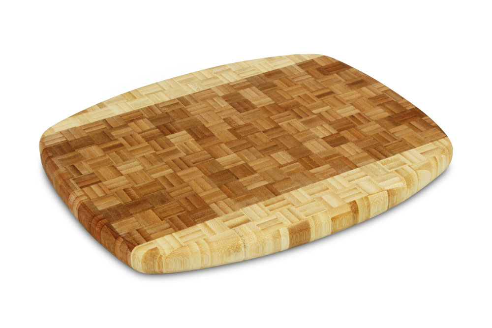 Cutlery And More Bamboo End Grain Cutting Board 13 5x11x1