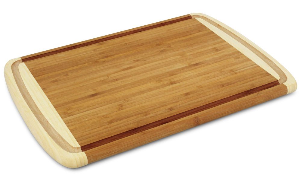 Cutlery And More Bamboo Cutting Board With Juice Groove