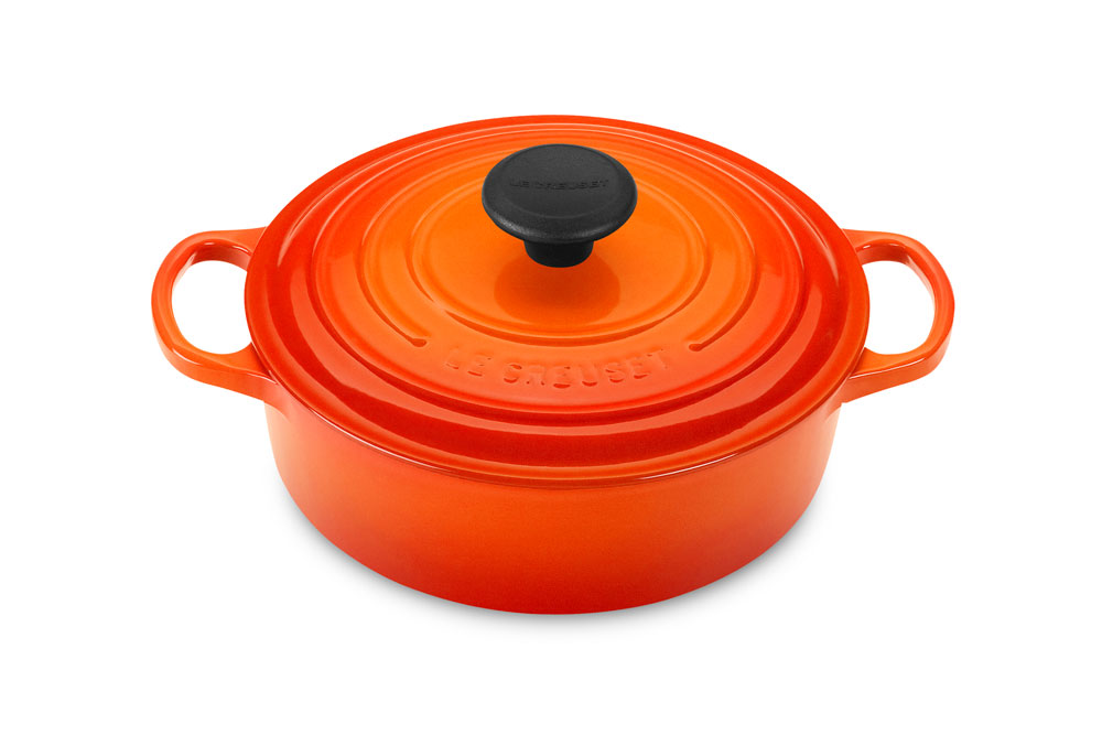 Le Creuset Signature Cast Iron Round Wide Dutch Oven 3 5
