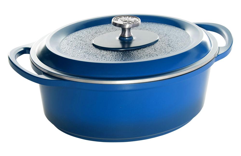 Nordicware Procast Traditions Enamel Cast Aluminum Oval