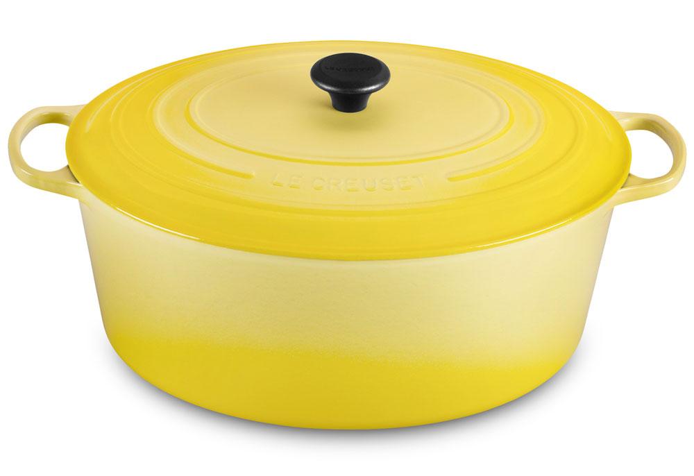 Le Creuset Signature Cast Iron Oval Dutch Oven 15 5 Quart