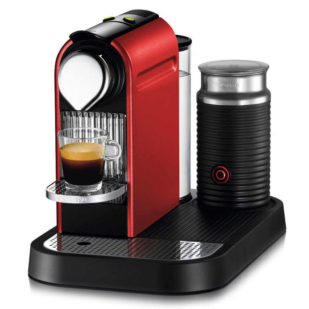 nespresso citiz coffee espresso maker with milk frother cutlery and more. Black Bedroom Furniture Sets. Home Design Ideas