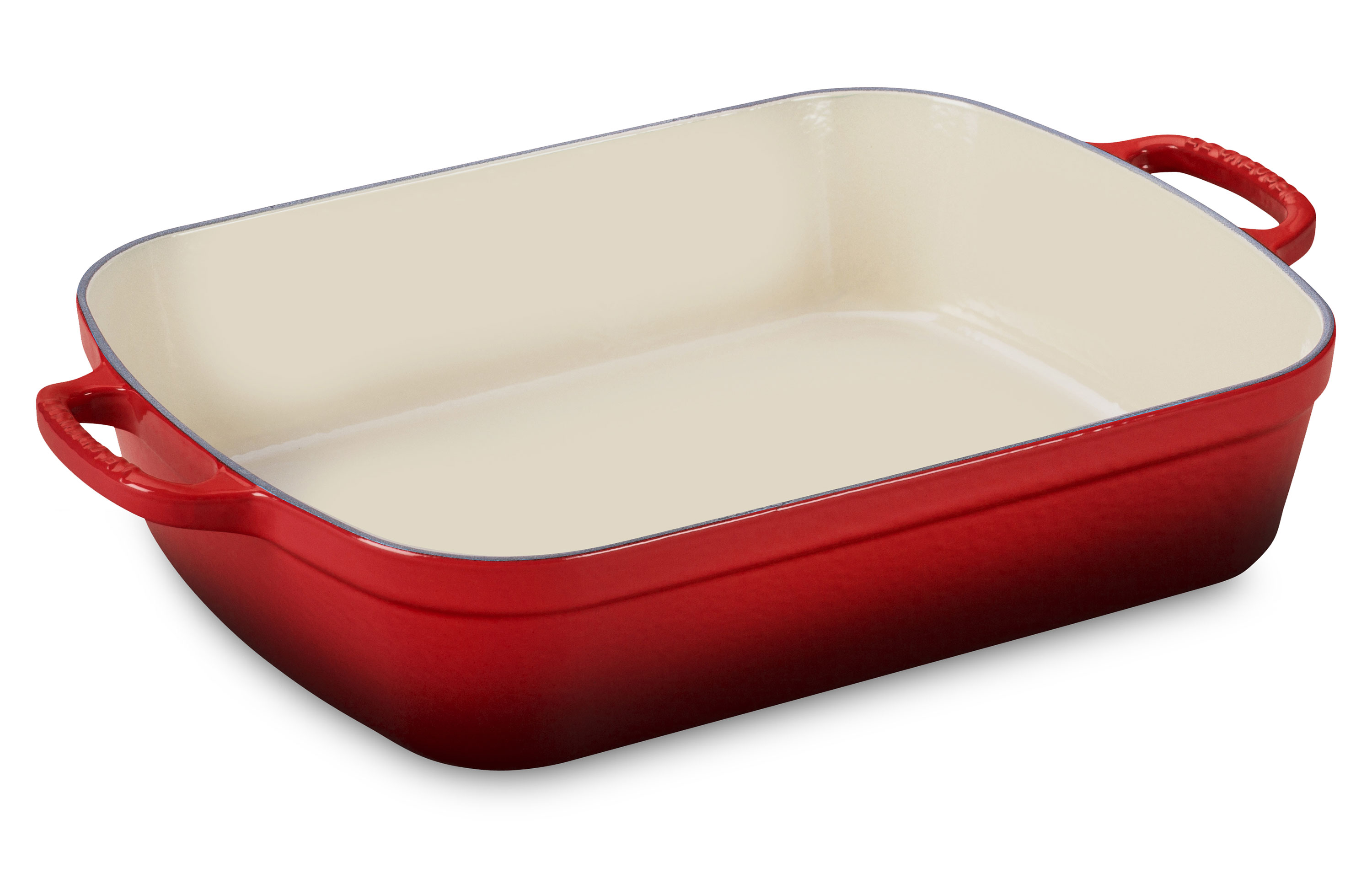 Le Creuset Signature Cast Iron Roasting Pan 14x10 75