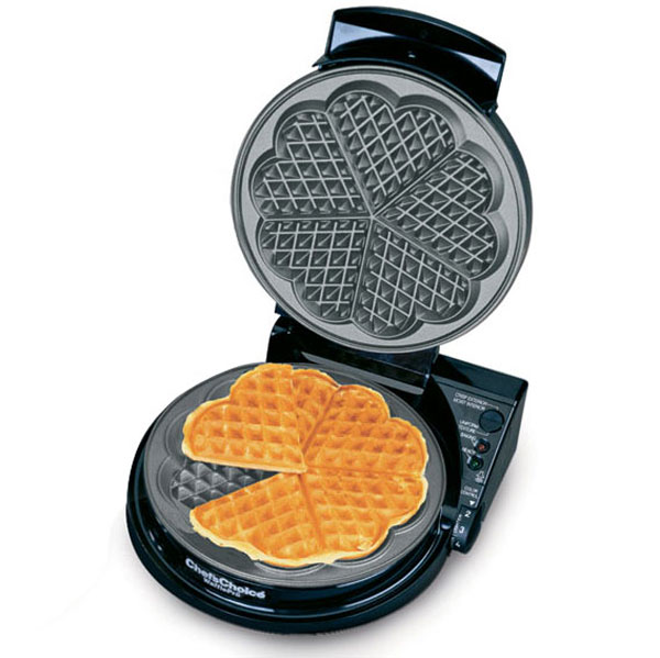 Chef S Choice Model 830 Wafflepro Heart Waffle Iron