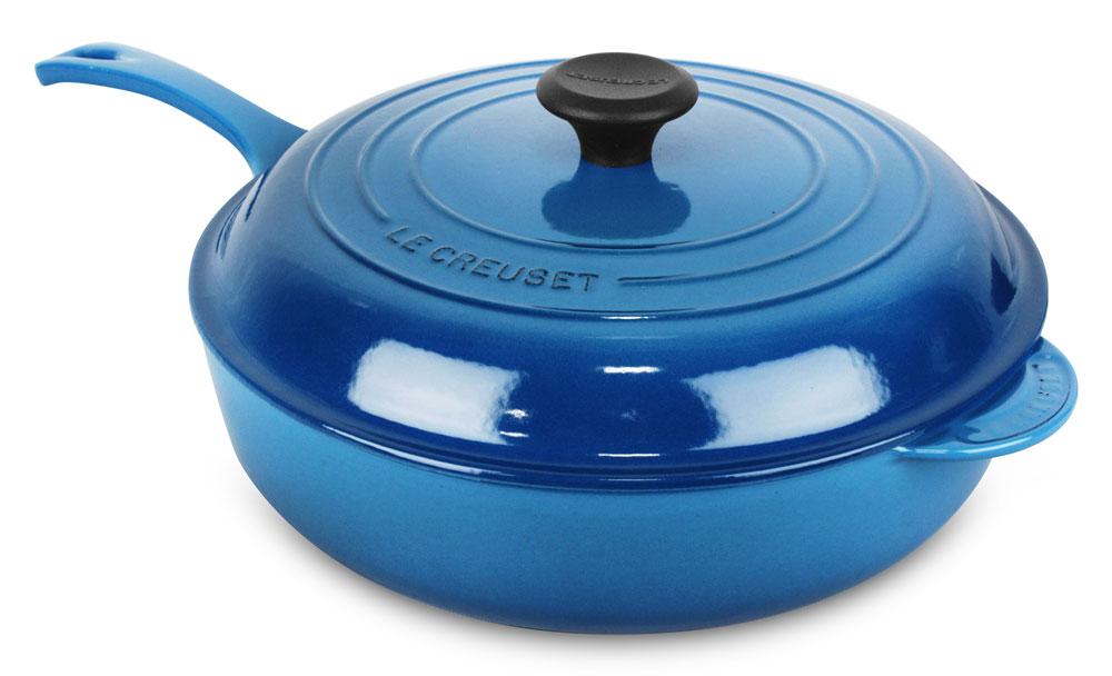 Le Creuset Signature Cast Iron 4 25 Quart Mille Deep Saute Pan