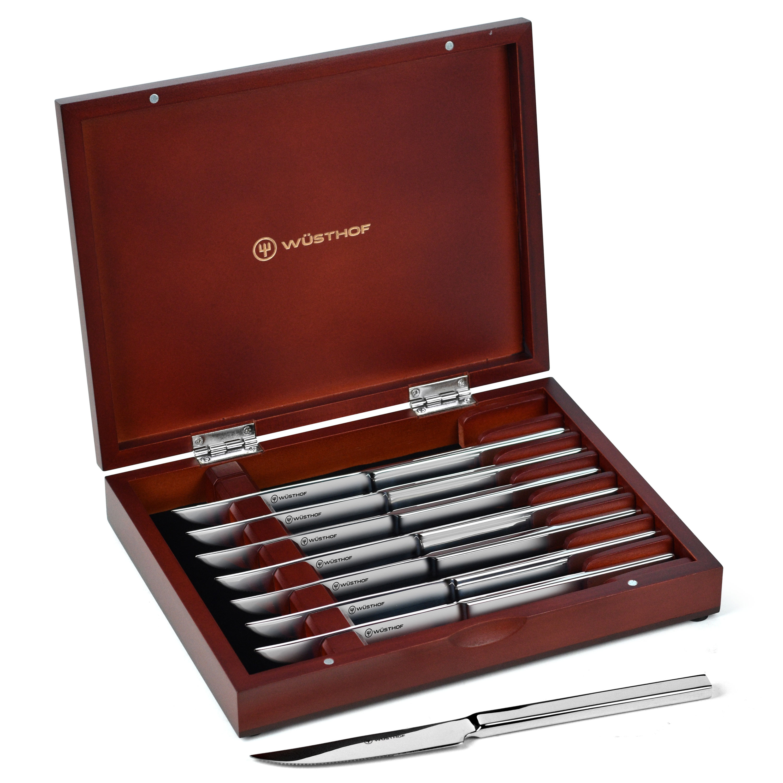 Wusthof Steak Knives Set Of 8 Presentation Stainless Steel