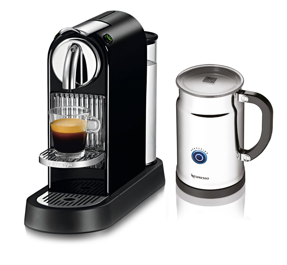 Nespresso Citiz Espresso Maker With Aeroccino Plus Milk