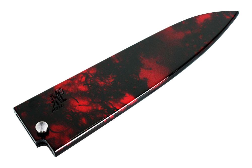 Miyabi Red Magnolia Wood Chef S Knife Sheath 8 Inch
