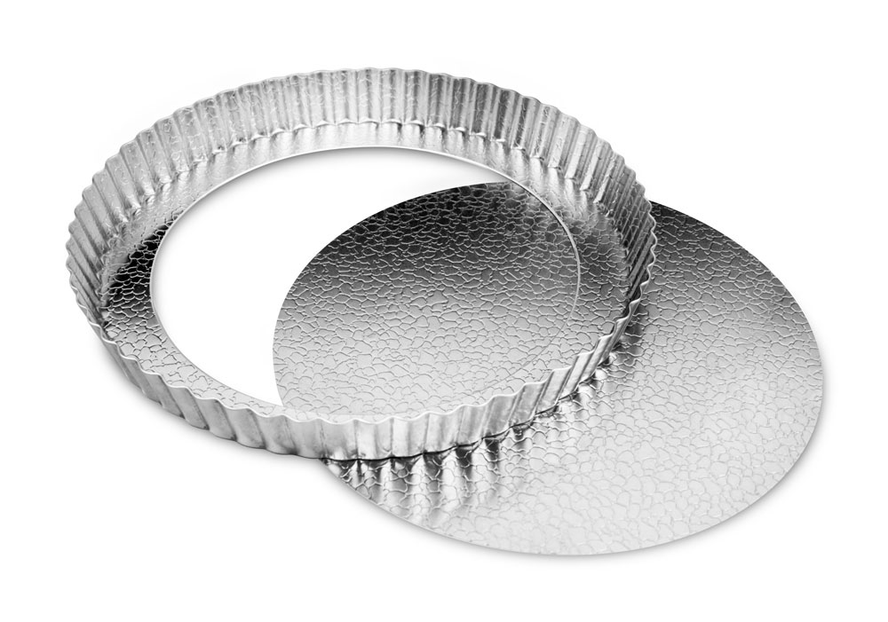 Doughmakers Fluted Round Tart Pan With Removable Bottom 9