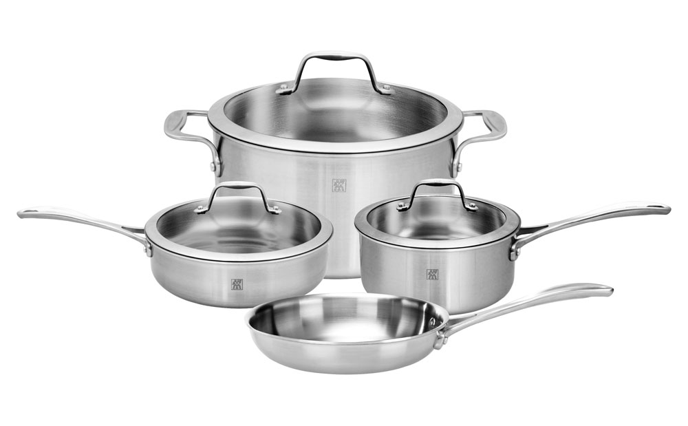 Zwilling J A Henckels Spirit Stainless Cookware Set 7