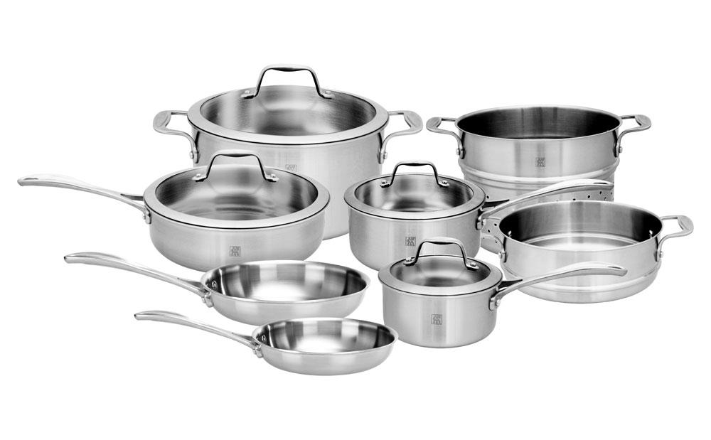 Zwilling J A Henckels Spirit Stainless Cookware Set 12