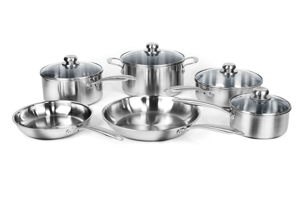 Henckels International Steel Clad Stainless Steel Cookware
