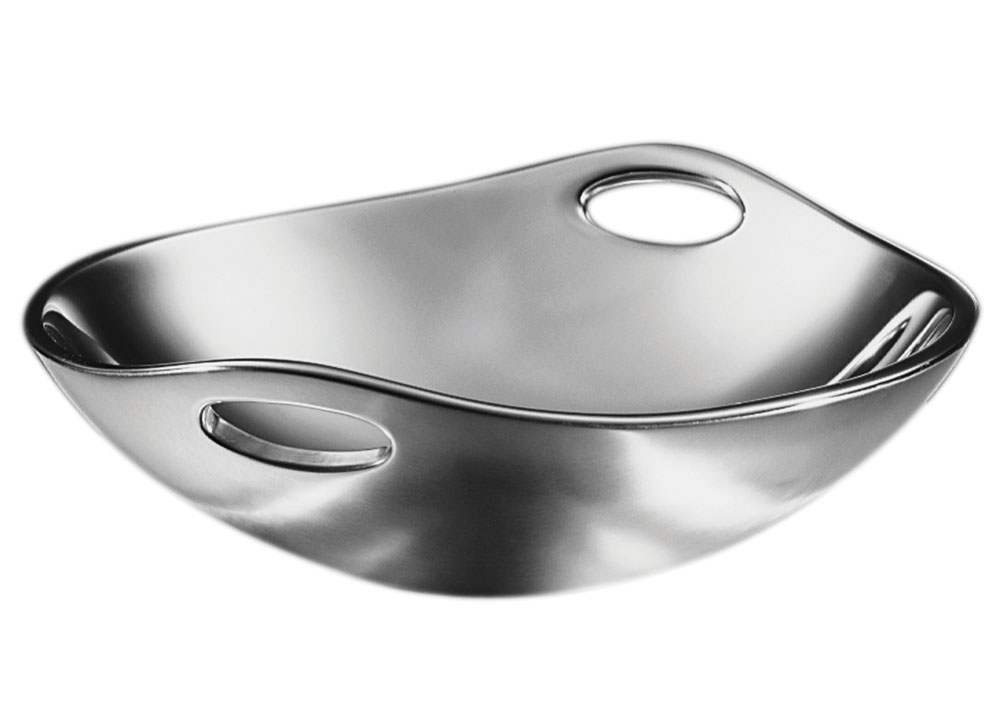 Nambe Serving Bowl With Handles 10 Quot Cutlery And More