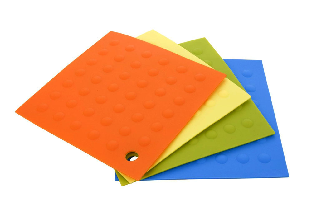Miu Silicone Pot Holder Trivet Set 4 Piece Cutlery And More