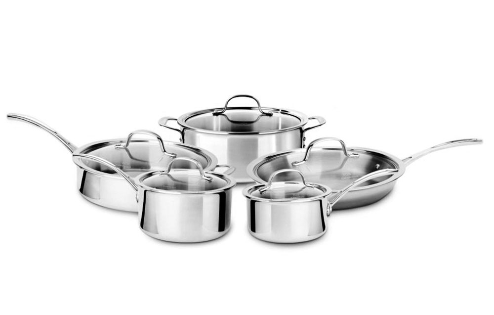 Calphalon Tri Ply Stainless Cookware Set 10 Piece