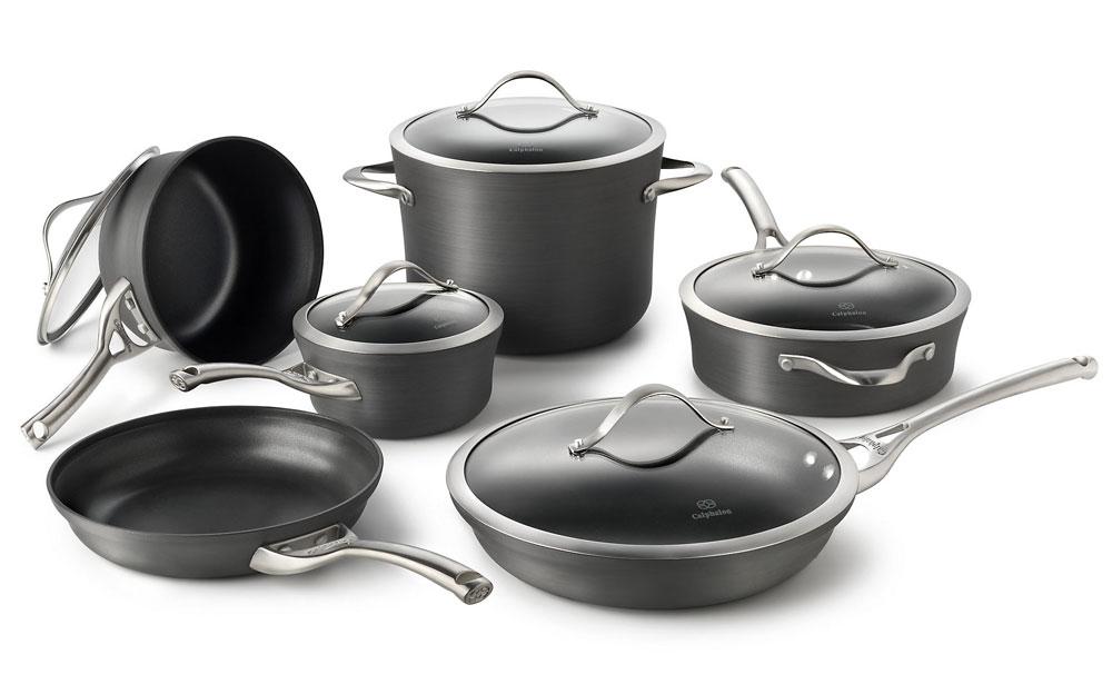Calphalon Contemporary Nonstick Cookware Set 11 Piece