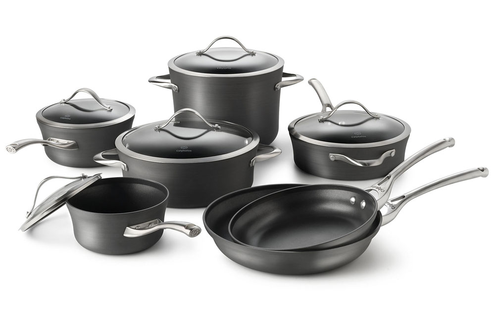 Calphalon Contemporary Nonstick Cookware Set 12 Piece