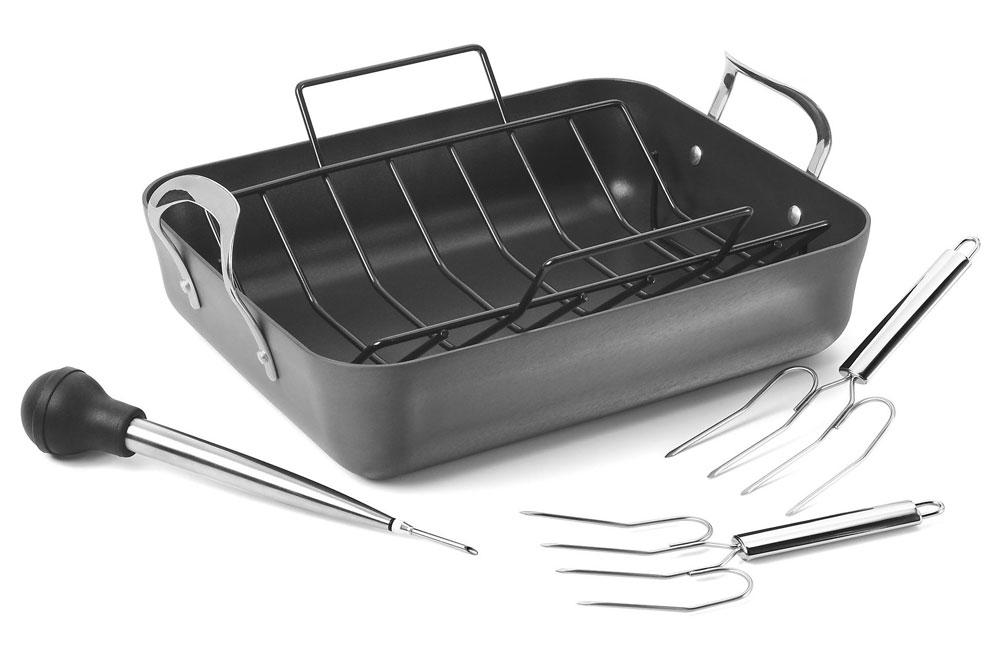 Calphalon Contemporary Nonstick Roasting Pan Set 16 5 X
