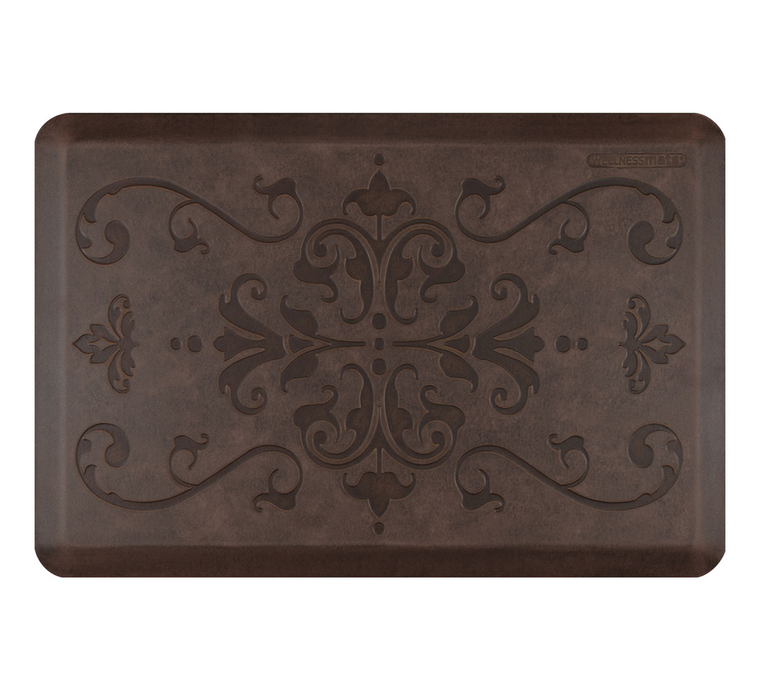 Wellnessmats Entwine Motif Anti Fatigue Kitchen Mat 36x24