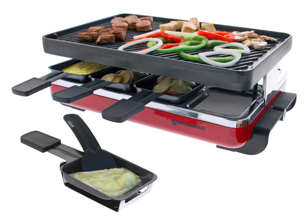 Swissmar Classic Raclette Grill With Reversible Cast Iron