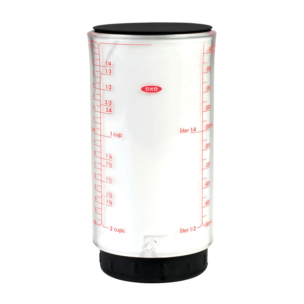 Oxo Good Grips Adjustable Measuring Cup 2 Cup Cutlery