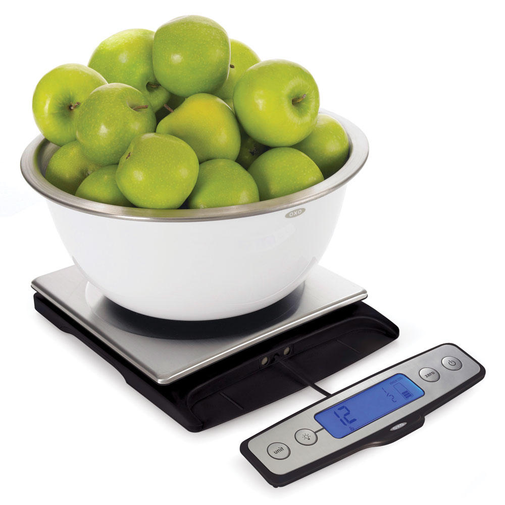 Oxo Good Grips Stainless Steel Digital Kitchen Scale With
